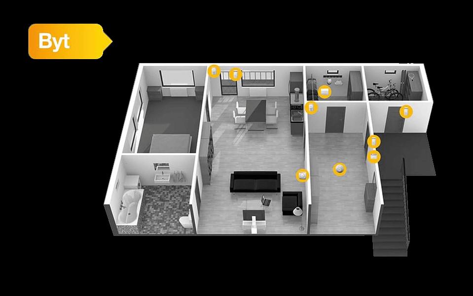 Zabezpečení bytu - zabezpečovací systémy Jablotron