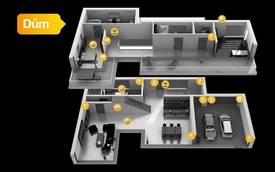 Zabezpečení domu - zabezpečovací systémy Jablotron